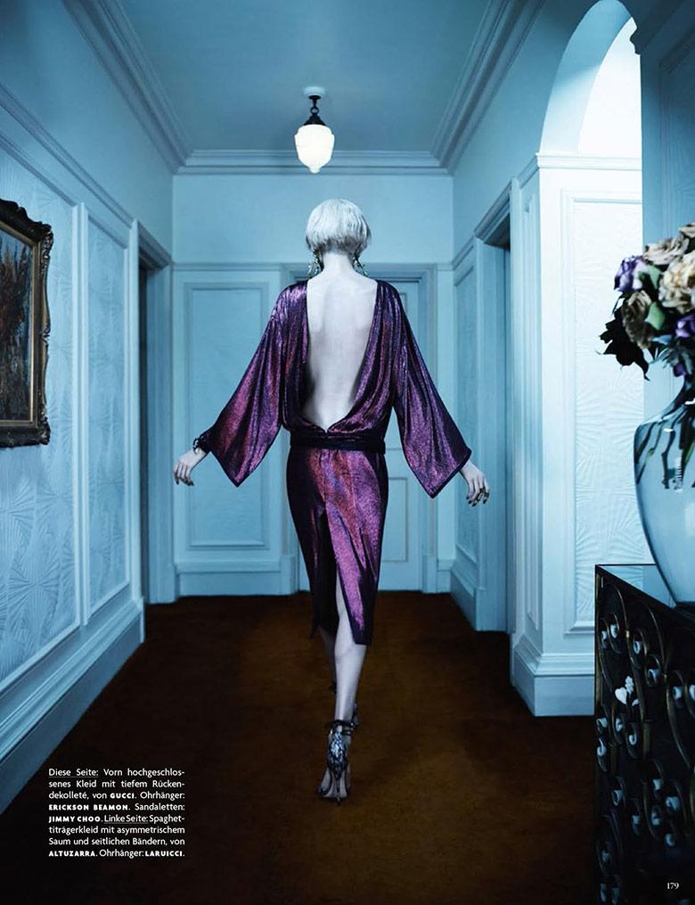 Photo Elisabeth Erm by Emma Summerton for Vogue Germany April 2014