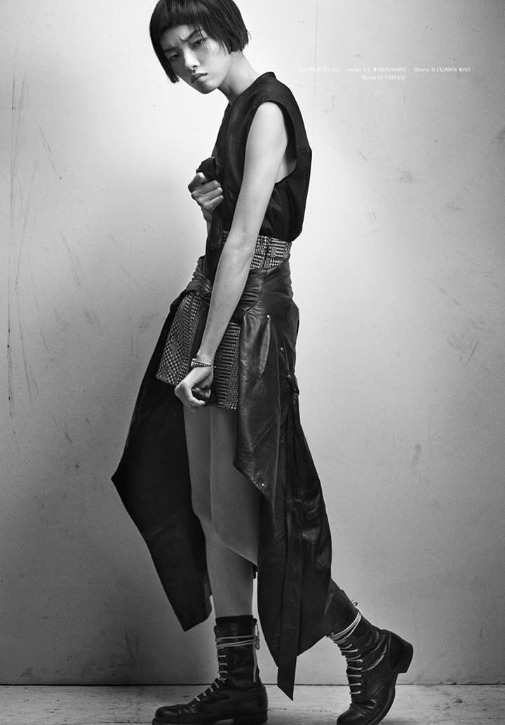 Photo Fei Fei Sun by Hugh Lippe for Fat Magazine 4