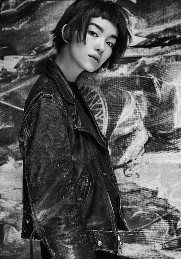 Photo Fei Fei Sun by Hugh Lippe for Fat Magazine 4