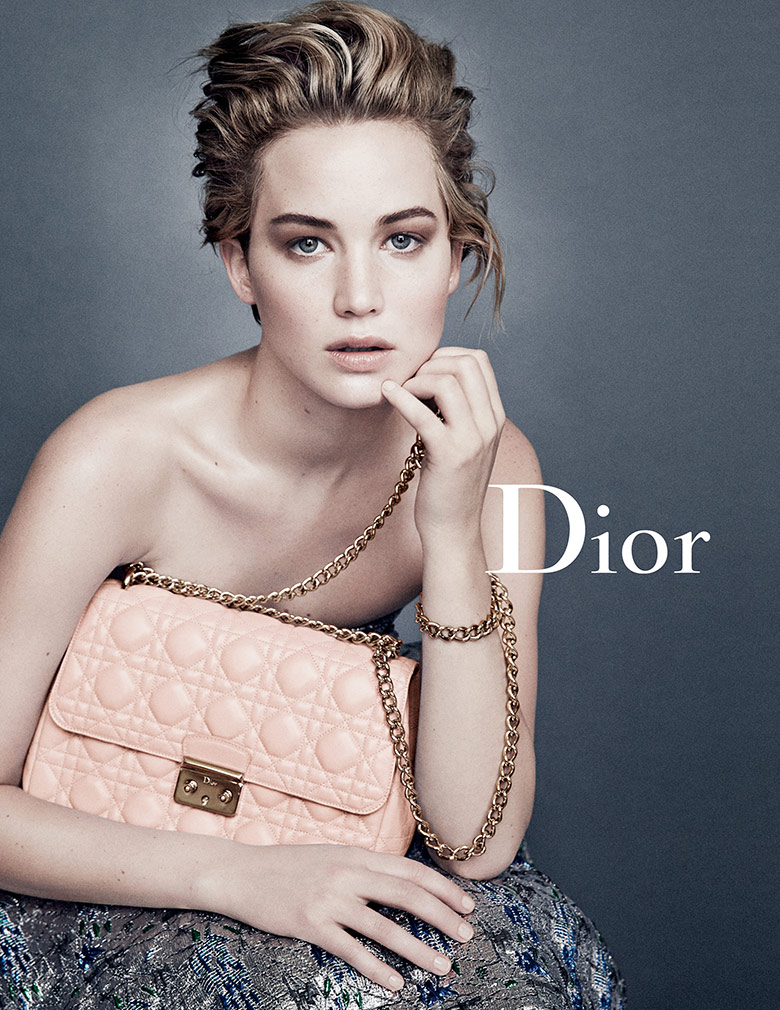 Photo Jennifer Lawrence for Miss Dior Spring/Summer 2014