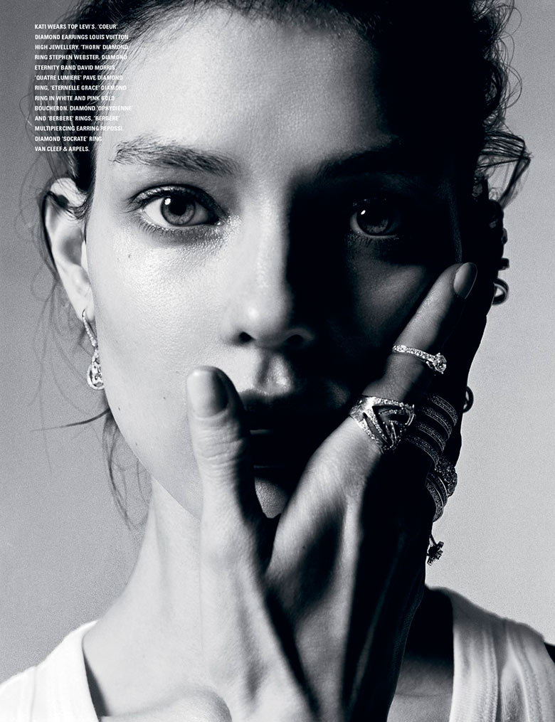 Photo The charming Kati Nescher takes on i D Magazine Spring 2014