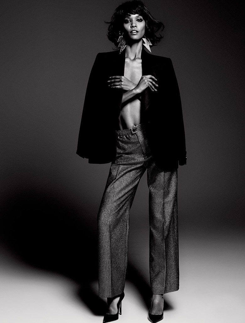 Photo Liya Kebede for Vamp Magazine issue 1