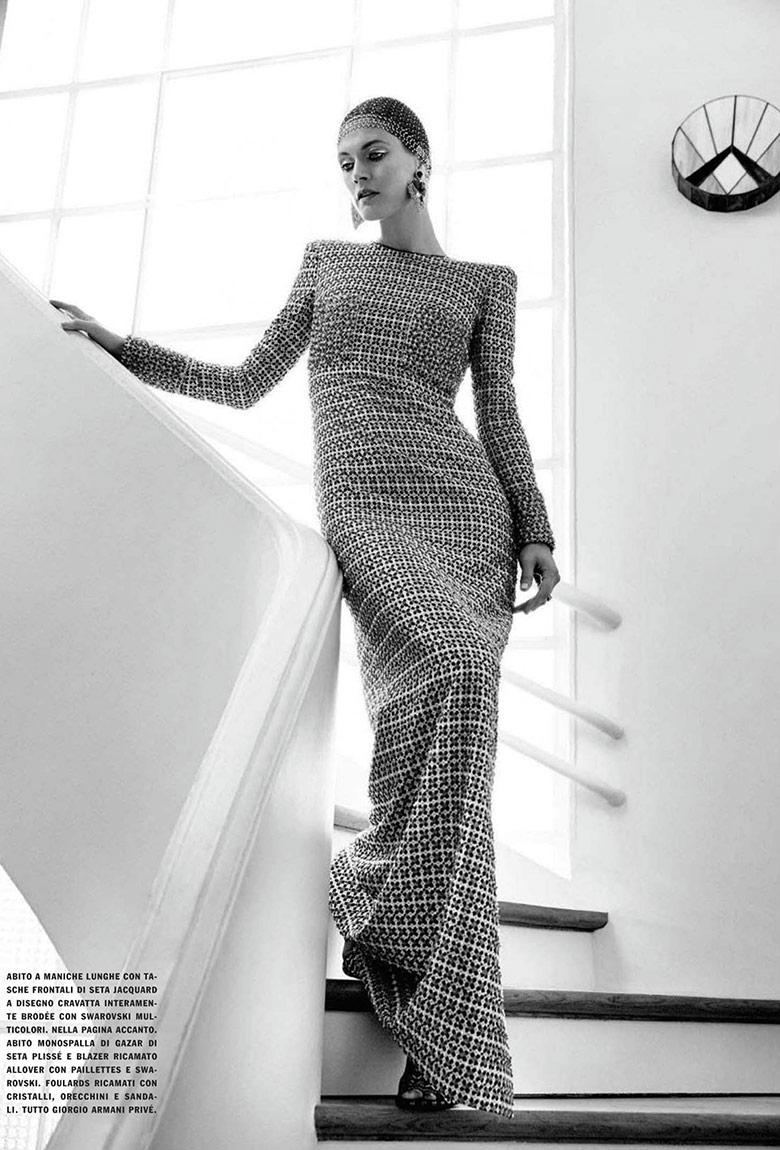 Photo Malgosia Bela by Yelena Yemchuk for Vogue Italia March 2014