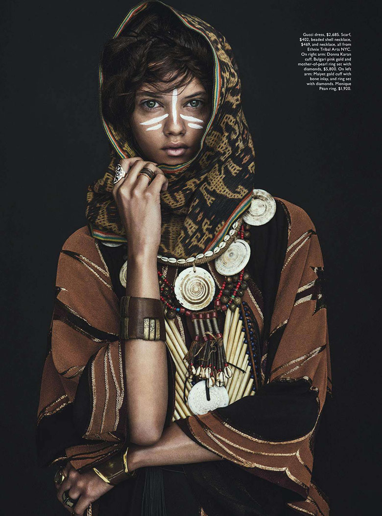 Photo Marina Nery by Sebastian Kim for Vogue Australia April 2014