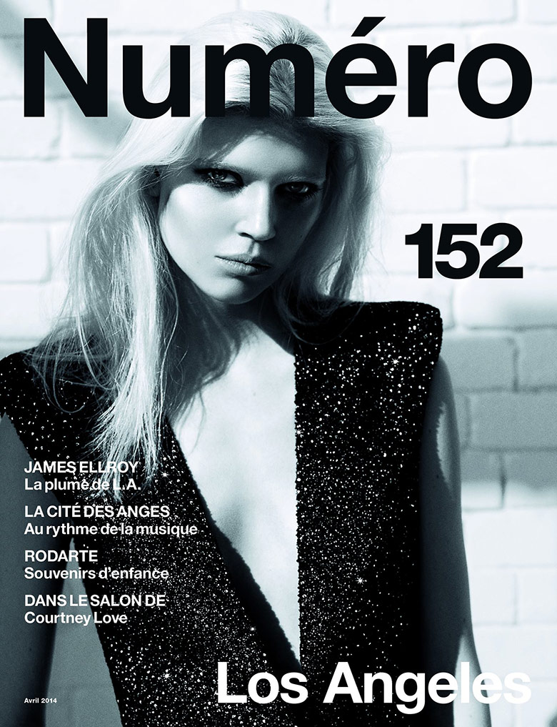 Photo Ola Rudnicka by Richard Bush for Numero April 2014