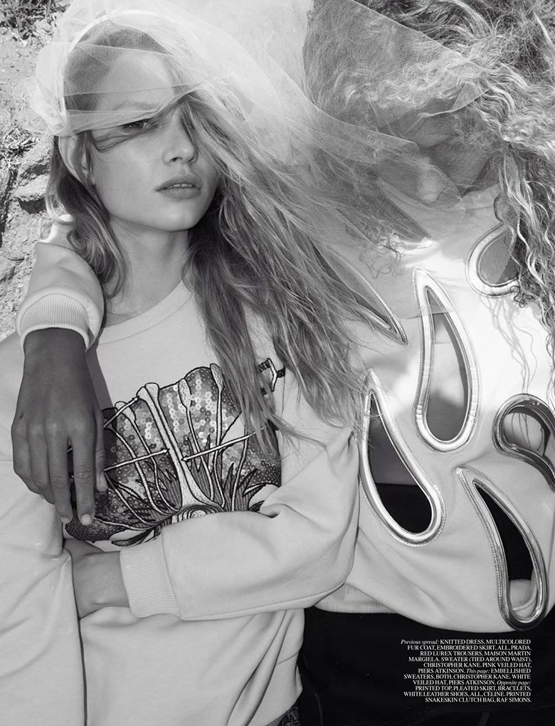 Photo Anna Ewers & Kirsty Hume for Self Service Magazine Spring/Summer 2014