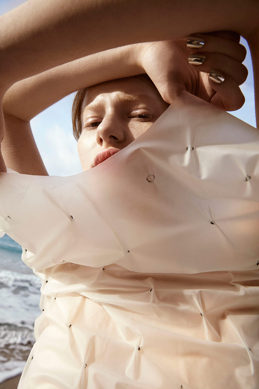 Photo Tank Magazine reveals a sun kissed Stephanie Hall