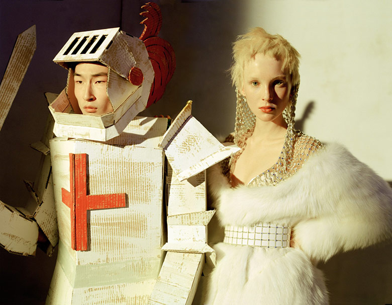 Toyland mania is framed by Tim Walker for W Magazine April 2014