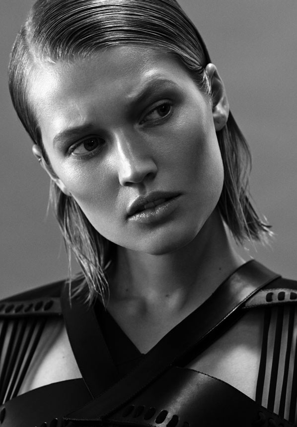 Photo Toni Garrn for Interview Magazine Russia April 2014