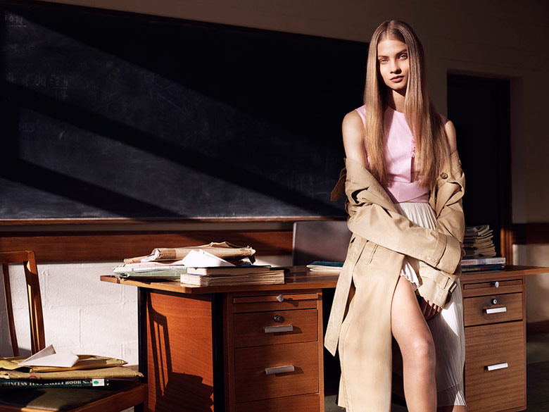 Photo Anna Selezneva reveals the summer's goods for Twin Issue 10
