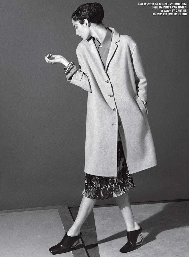 Photo A joyous Ava Smith for 10 Magazine Summer 2014
