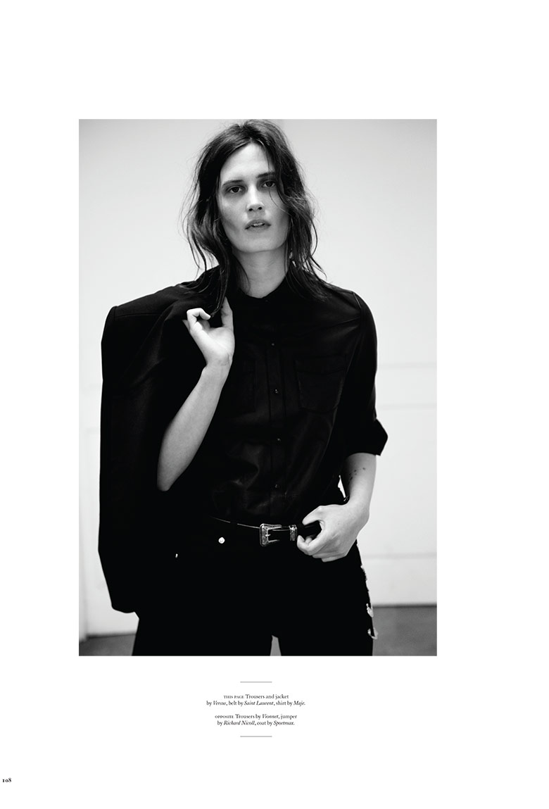 Photo Drake Burnette goes Saint Laurent chic for Twin 10 Magazine