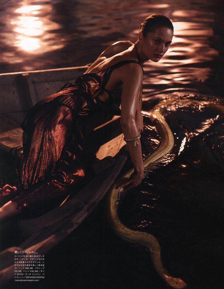 Photo Karmen Pedaru by Sean & Seng for Vogue Japan June 2014