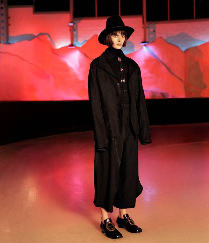 Photo Sam Rollinson goes back to black for Modern Matter S/S 2014