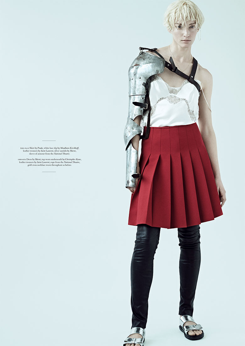 Photo Vivien Solari by Scott Trindle for Twin Magazine 10