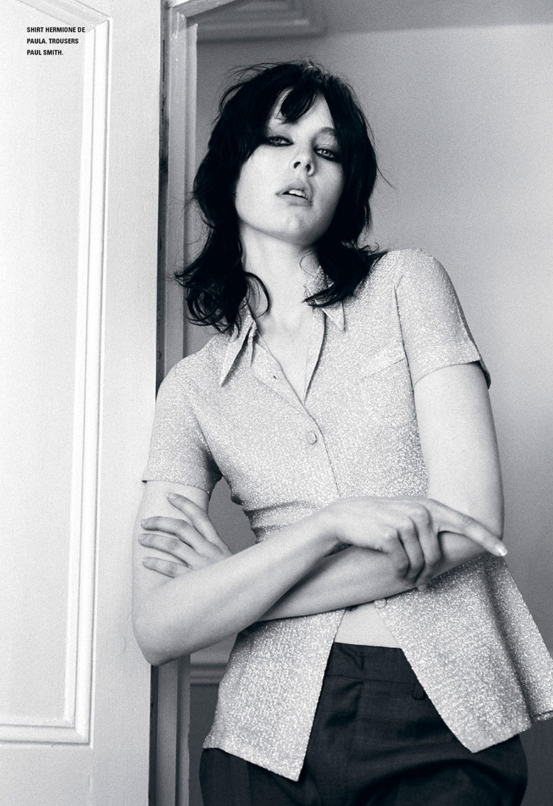 Photo Edie Campbell by Marlene Marino for i D Summer 2014