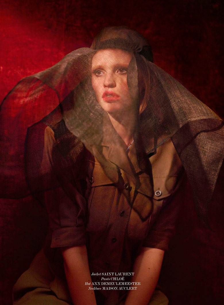 Photo Lara Stone by Sean & Seng for 032c Magazine Summer 2014
