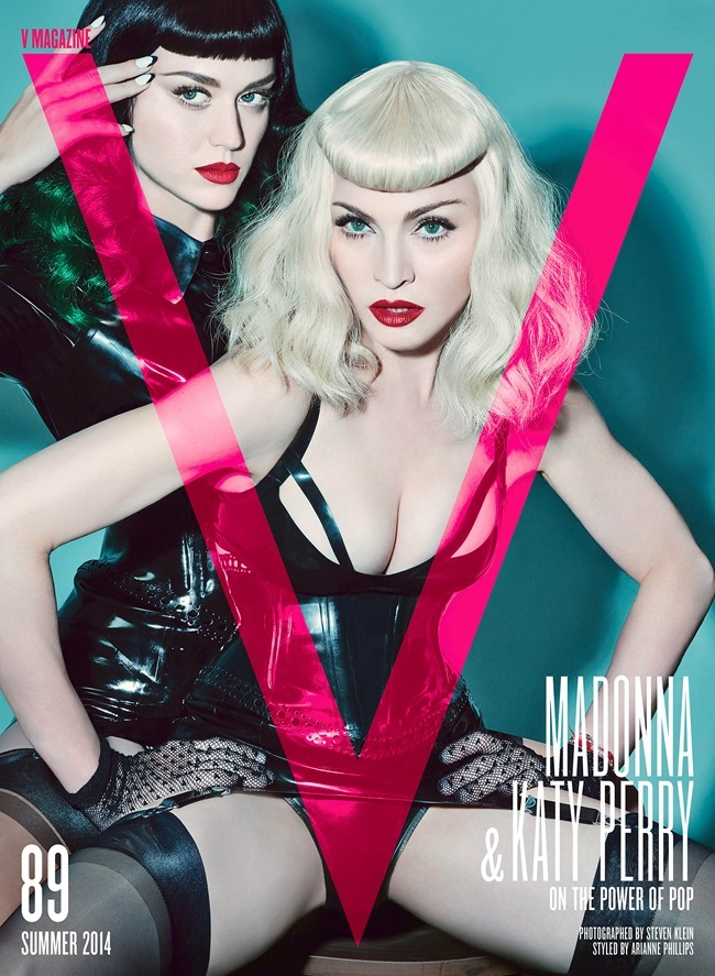 Photo Madonna & Katy Perry takes on the cover of V Magazine