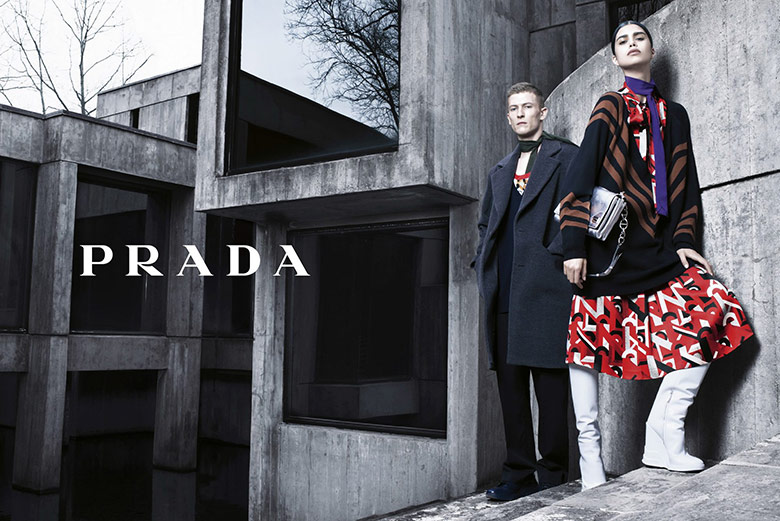 Prada Fall/Winter 2014/15 Campaign by Steven Meisel