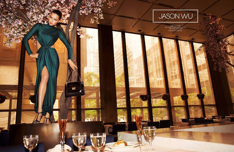 Adriana Lima by Inez & Vinoodh for Jason Wu Fall Winter 2014