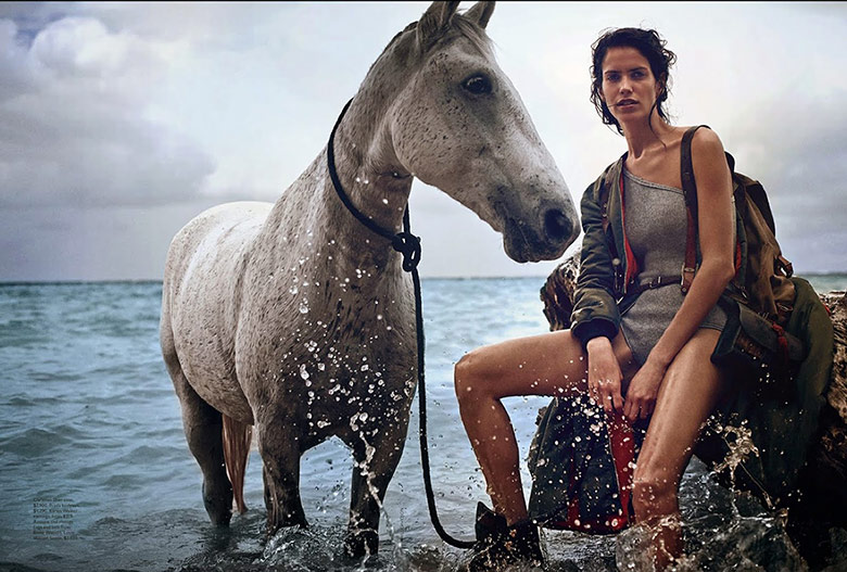 Photo Amanda Wellsh by Will Davidson for Vogue Australia July 2014