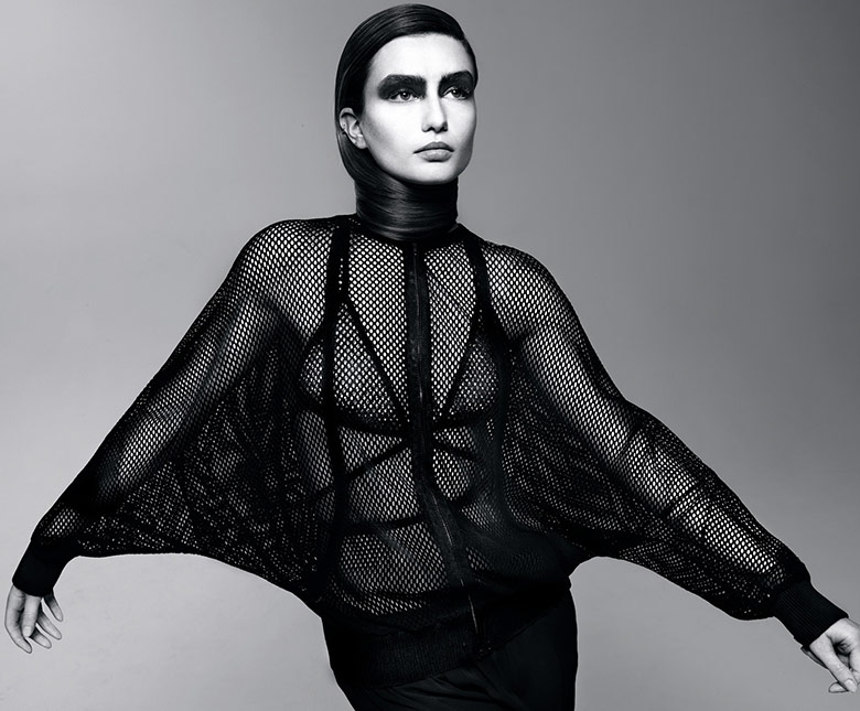 Photo Andreea Diaconu for Intermission Magazine Spring/Summer 2014