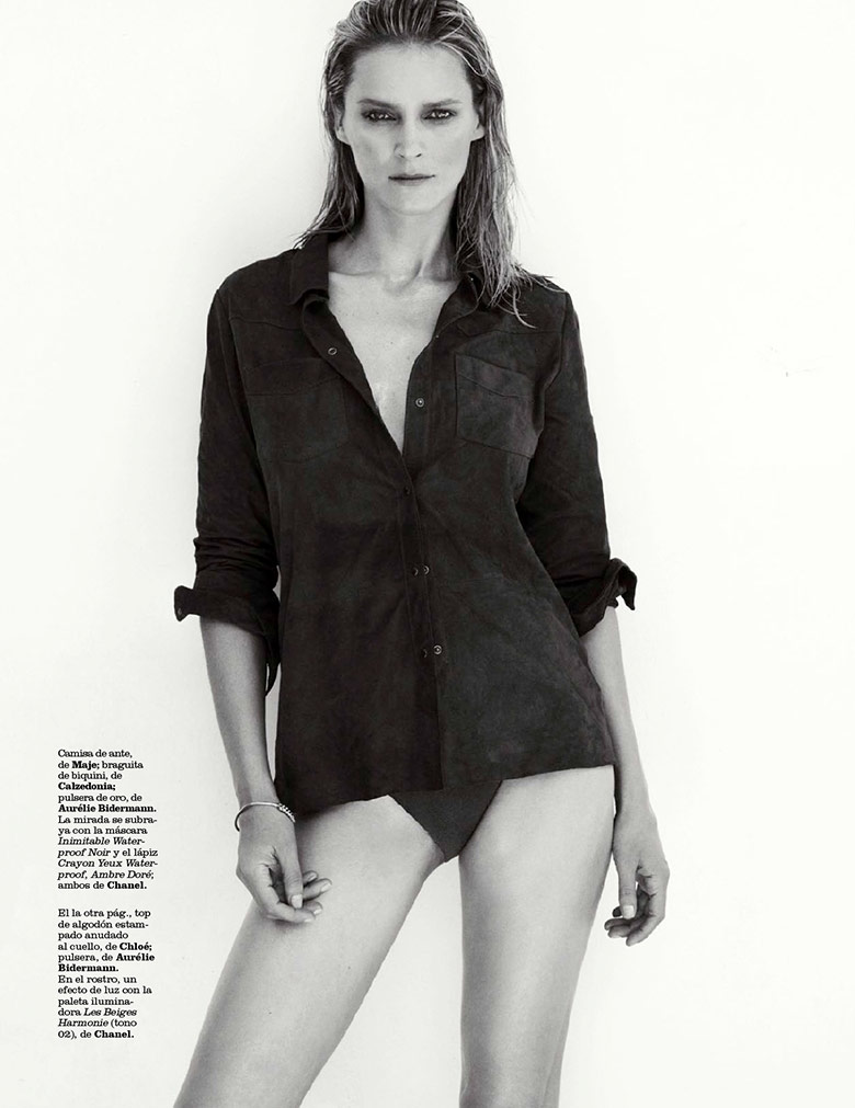 Photo Carmen Kass for Marie Claire Spain July 2014