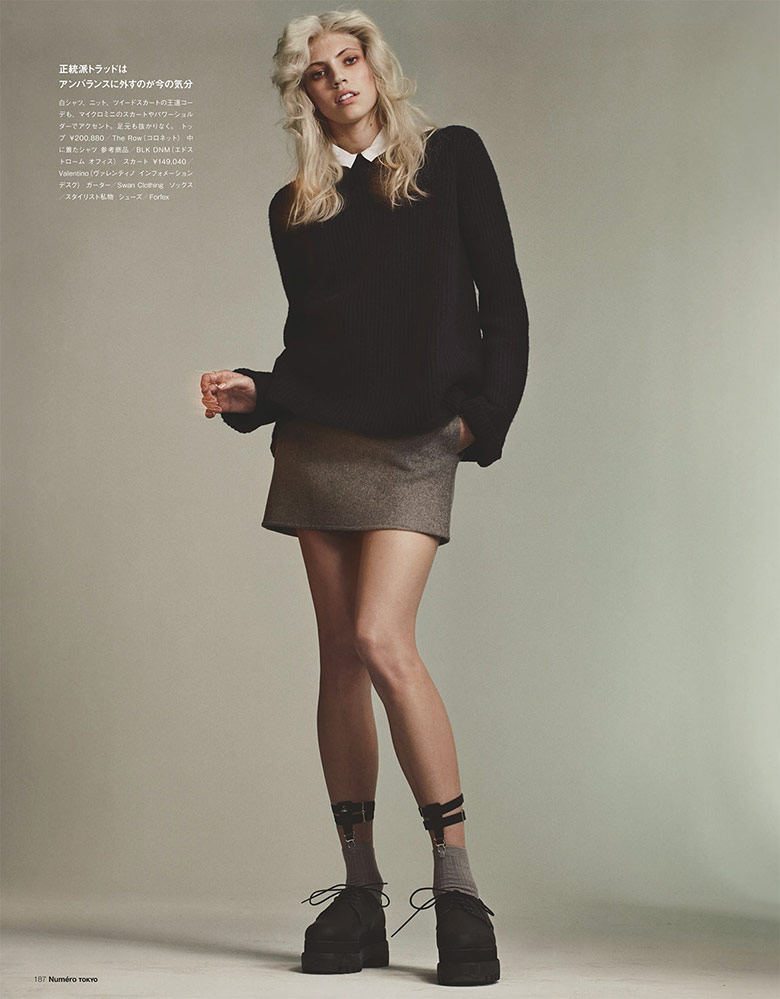 Photo Devon Windsor by Benjamin Lennox For Numero Tokyo July/August 2014