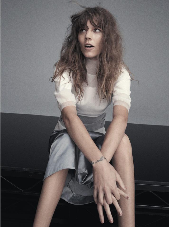Photo Freja Beha Erichsen for Russh Magazine June July 2014