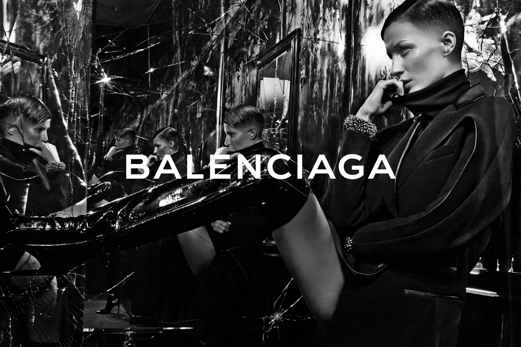 Photo Gisele Bundchen by Steven Klein for Balenciaga Fall/Winter 2014/15