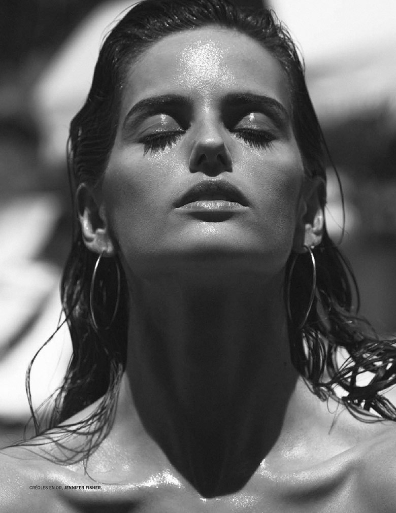 Photo Izabel Goulart by Daniel Jackson for Lui Magazine June 2014