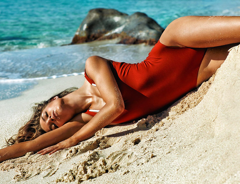 Photo Porter Summer 2014 reveals a sun kissed Josephine Skriver