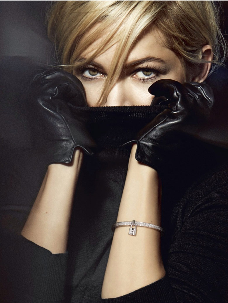 Photo Michelle Williams presents Louis Vuitton Jewelry 2014