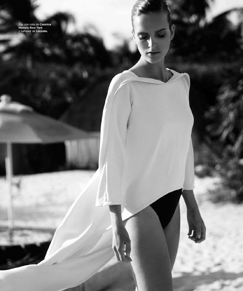 Photo Mirte Maas by David Roemer for Harper's Bazaar Spain July/August 2014