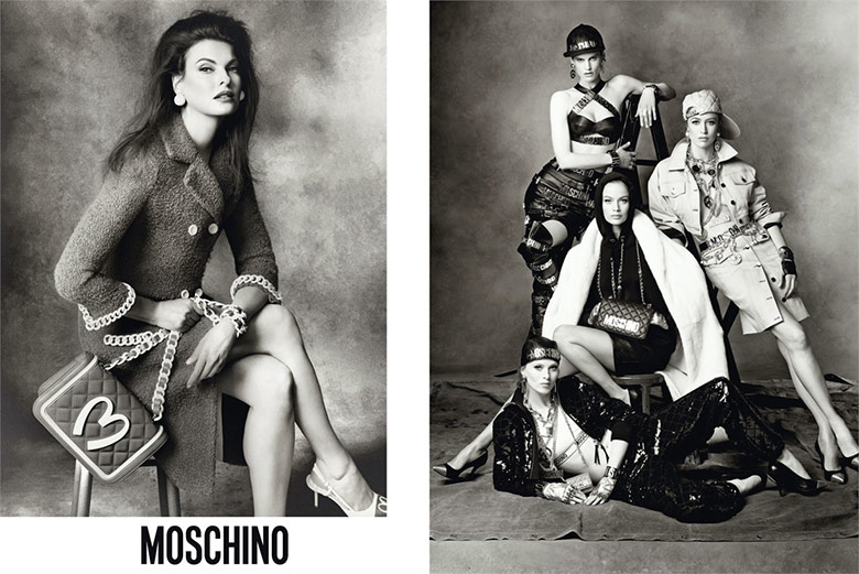 Photo Moschino F/W 2014/15 Campaign