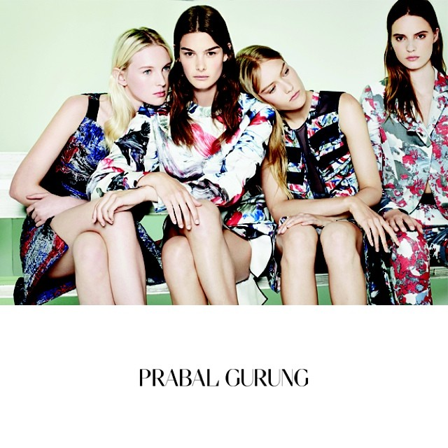 Photo Prabal Gurung Resort 2015 Campaign
