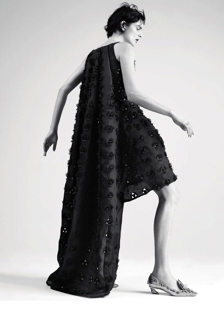 Photo Stella Tennant by Willy Vanderperre for Dior Magazine 6