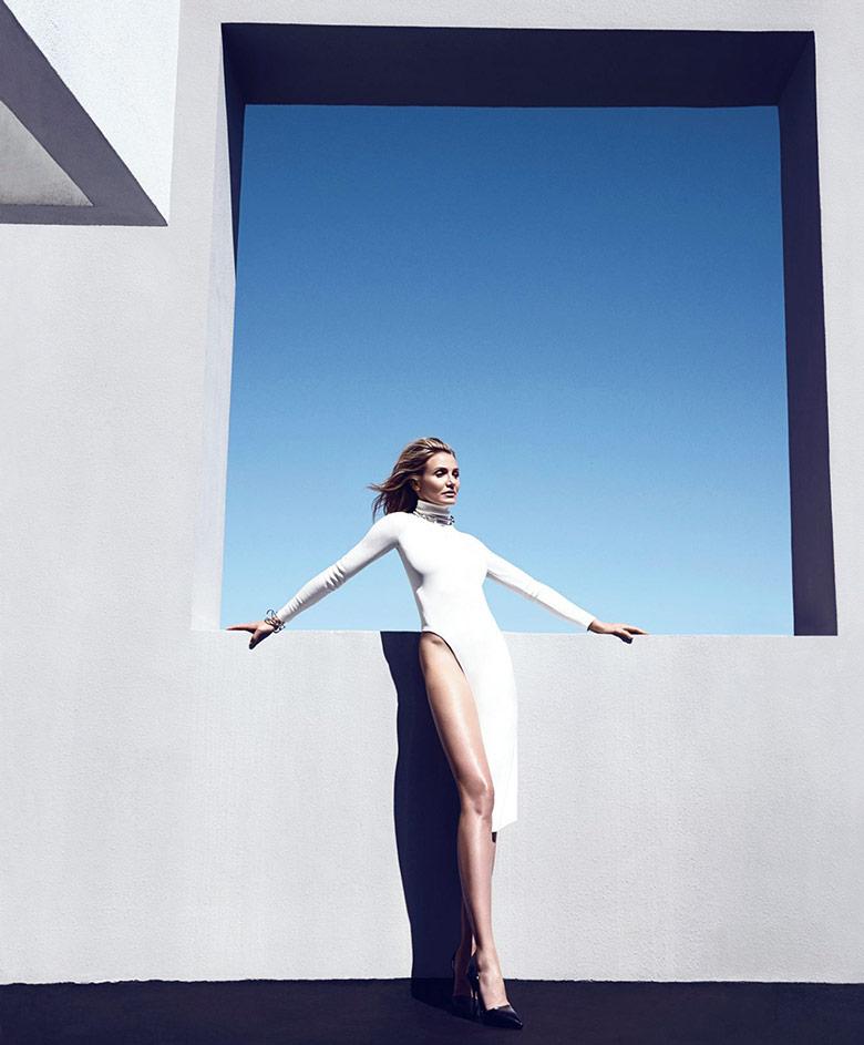 Photo Cameron Diaz by Camilla Akrans for Harper's Bazaar US August 2014