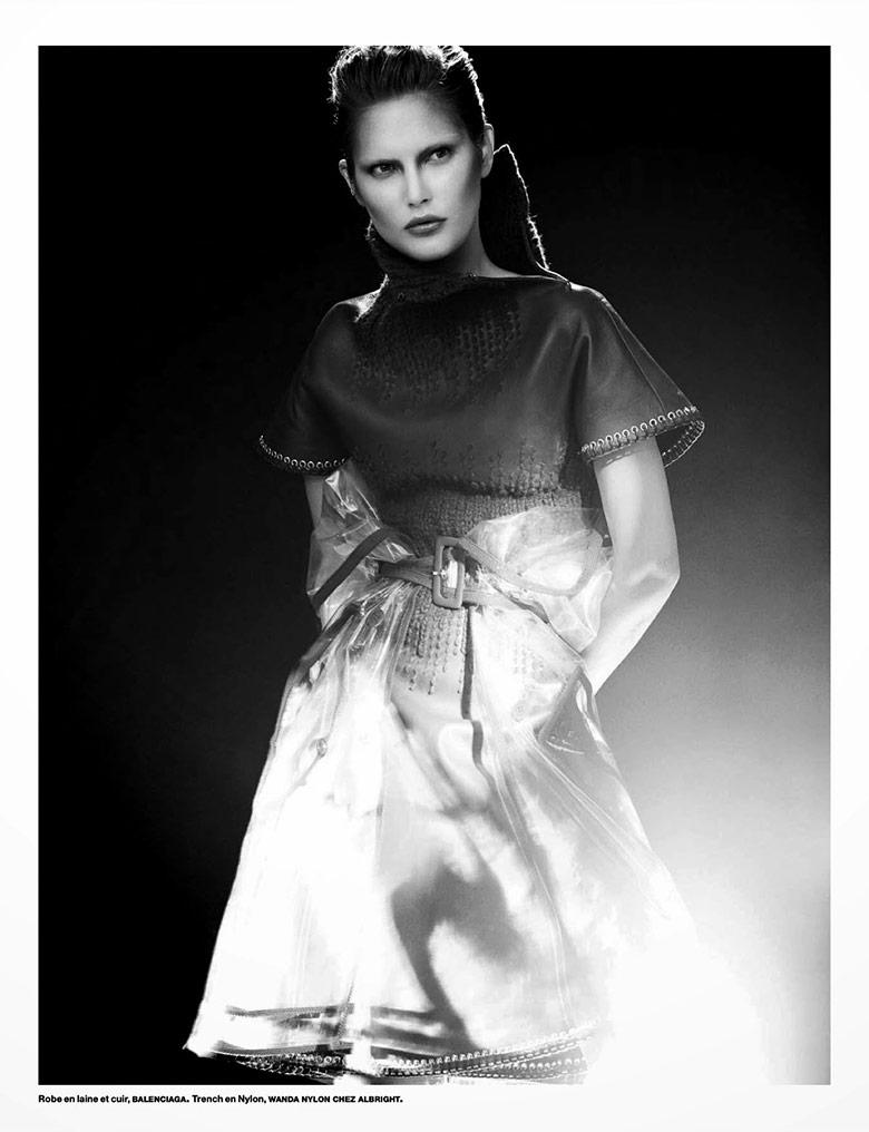 Photo  Catherine McNeil by Benjamin Lennox for Numero 2014