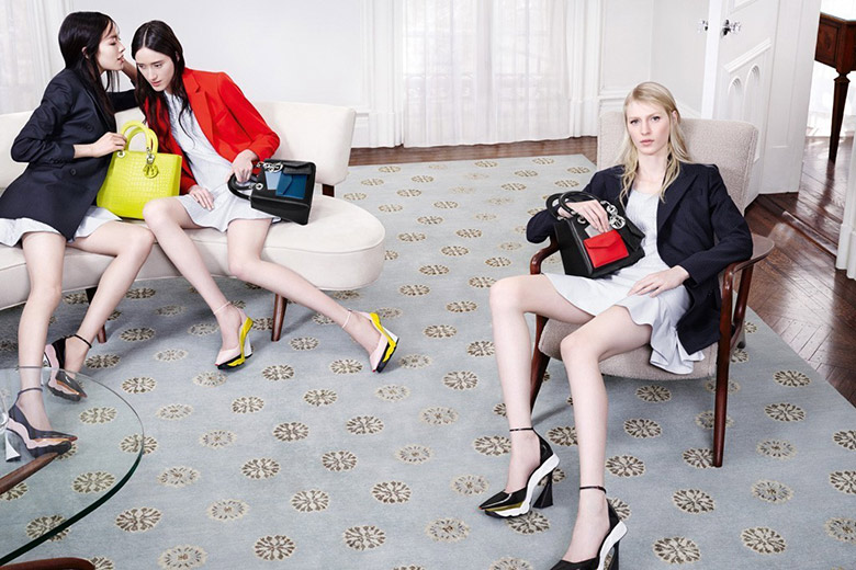 Christian Dior Fall/Winter 2014/15 Campaign by Willy Vanderperre