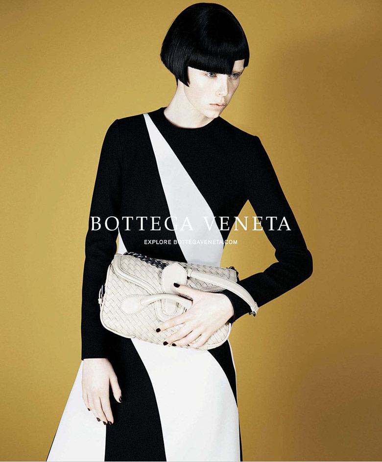 Photo Edie Campbell for Bottega Veneta F/W 14/15