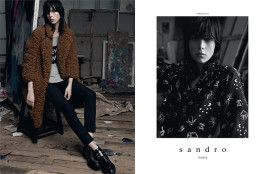edie-campbell-sandro-fall-winter-2014-15-1
