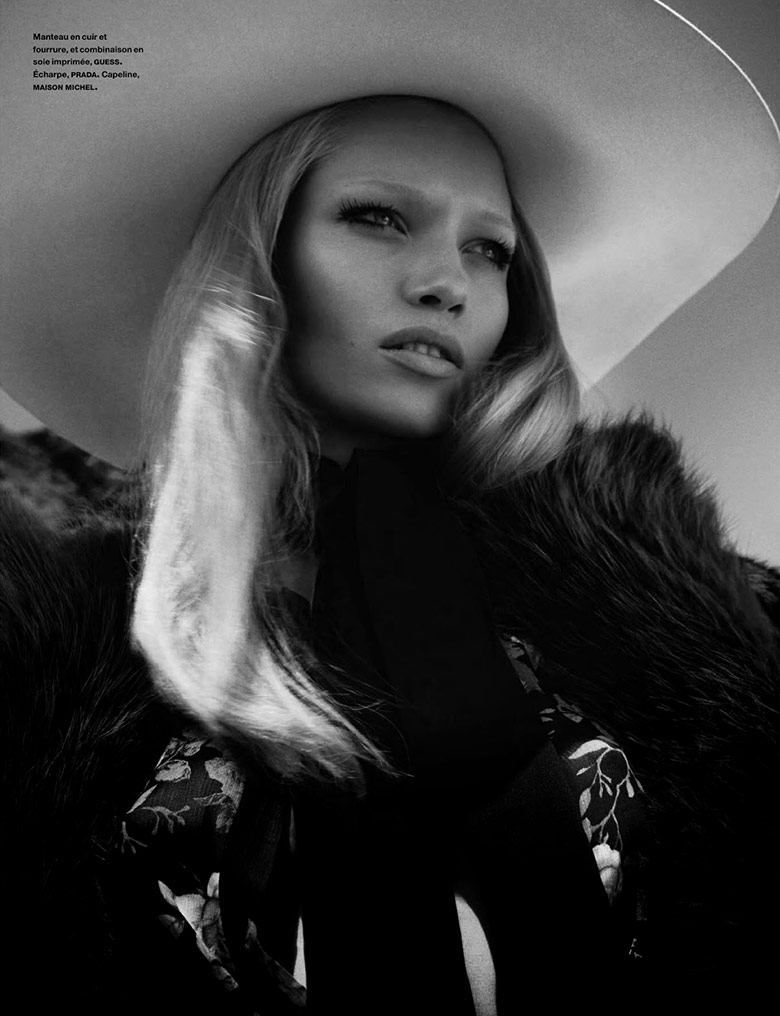Photo Hana Jirickova by Txema Yeste for Numero August 2014