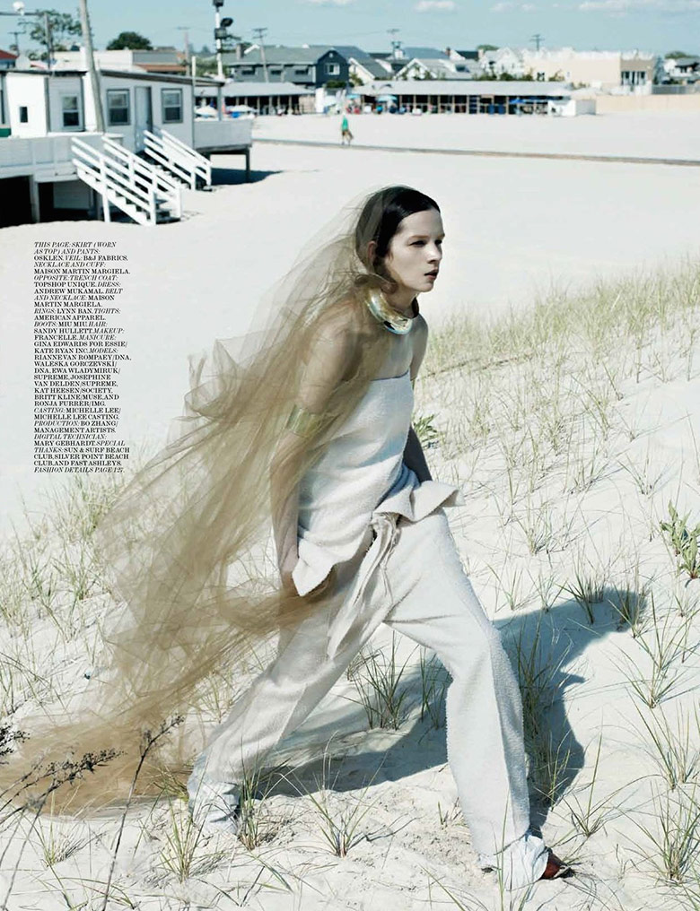 Photo Beachin by Gregory Harris for Interview Magazine August 2014
