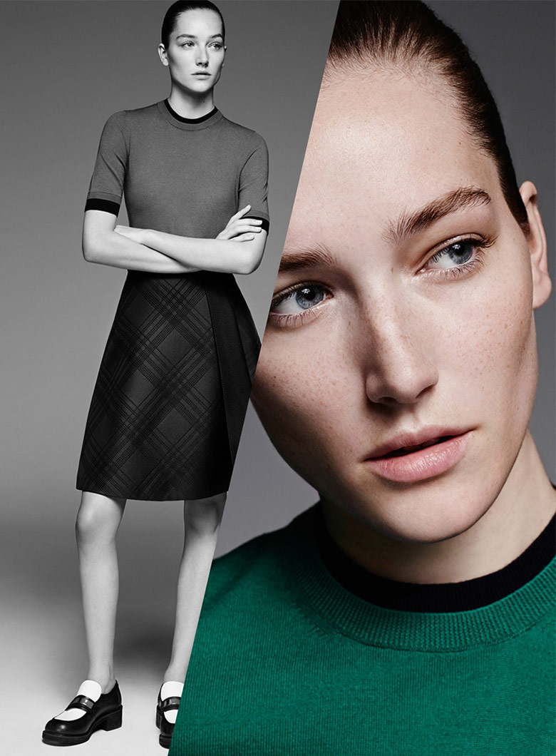 Josephine Le Tutour for Jil Sander Navy F/W 14/15