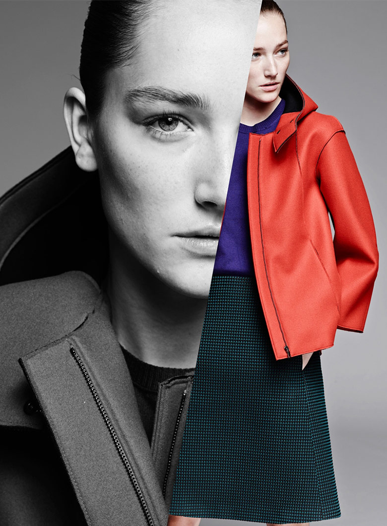 Photo Josephine Le Tutour for Jil Sander Navy F/W 14/15