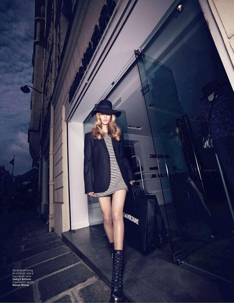 Photo Julia Jamin for LOfficiel Paris August 2014