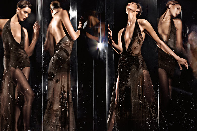 Photo Karlie Kloss for Donna Karan Fall/Winter 2014/2015