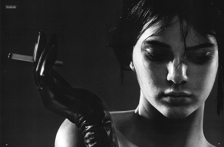 Photo Kendall Jenner by David Sims for LOVE