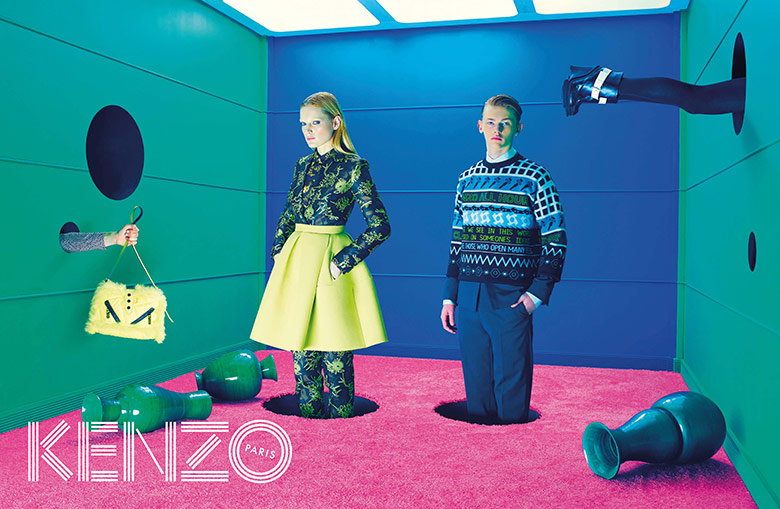 Photo Kenzo Fall/Winter 2014/2015 Campaign